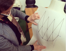 Reactive Body informed 3D printed textiles Tu/e university Eindhoven